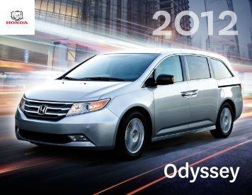 Odyssey PDF Brochure - Honda Canada