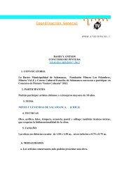 CONCURSO DE PINTURA