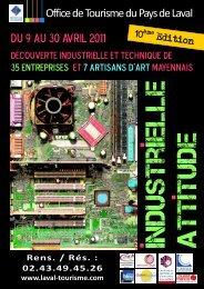 Plaquette Industrielle Attitude 2011.pdf - (CCI) de la Mayenne