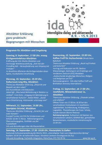 Programm 2013 vx - IDA