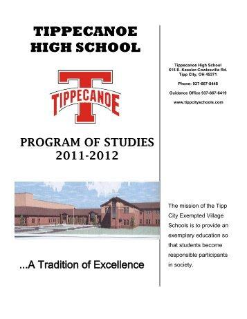 TIPPECANOE HIGH SCHOOL - Tipp City Exempted Village Schools