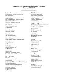 GDEST EU-US: Quantum Information and ... - The National Academies