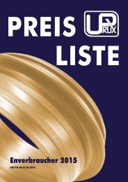 Checkup Preisliste 2015