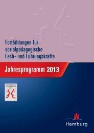 Fortbildung für sozialpädagogische Fach- und ... - Hamburg
