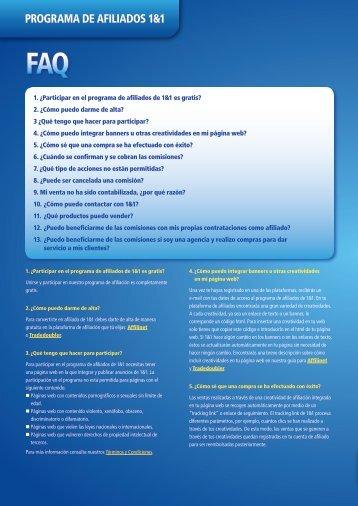 PROGRAMA DE AFILIADOS 1&1