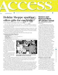Holiday Shoppe sparkles; offers gifts for everyone - Cary Academy