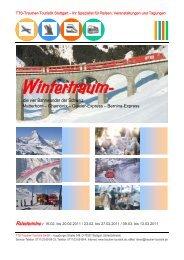 …die vier Bahnwunder der Schweiz - Trautner-Touristik GmbH