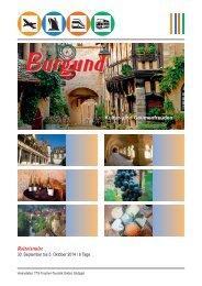 Burgund - Trautner-Touristik GmbH