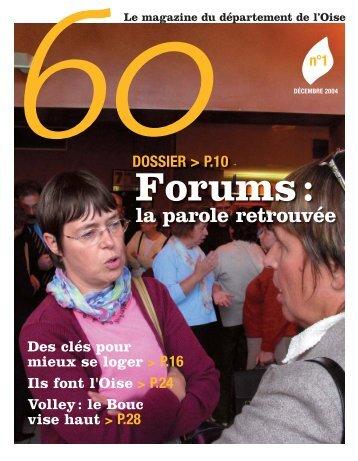 Oise N°1 Couv.indd - Conseil général de l'Oise