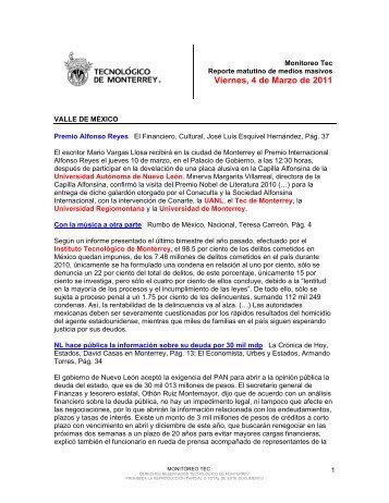 Mar 4, 2011 2:11:59 PM - Tecnológico de Monterrey