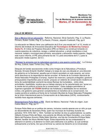 Nov 27, 2012 11:09:38 AM - Tecnológico de Monterrey