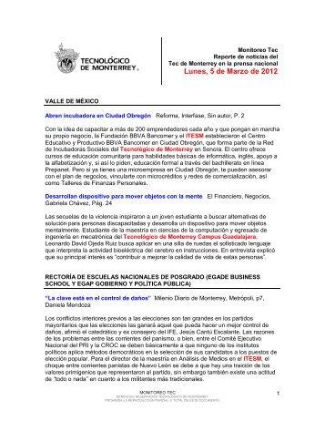 Mar 5, 2012 3:03:56 PM - Tecnológico de Monterrey