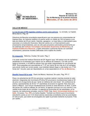 Jun 28, 2012 5:16:48 PM - Tecnológico de Monterrey