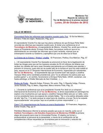 Oct 29, 2012 12:28:27 PM - Tecnológico de Monterrey