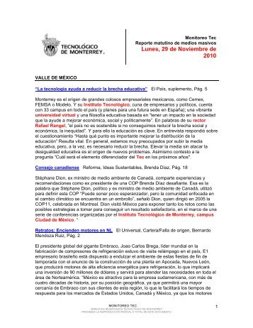 Nov 29, 2010 3:27:57 PM - Tecnológico de Monterrey