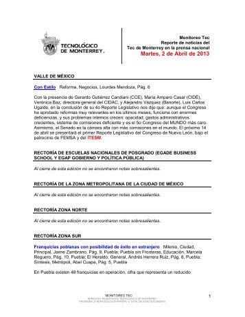 Apr 2, 2013 12:22:43 PM - Tecnológico de Monterrey