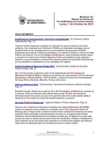Oct 7, 2013 4:33:08 PM - Tecnológico de Monterrey