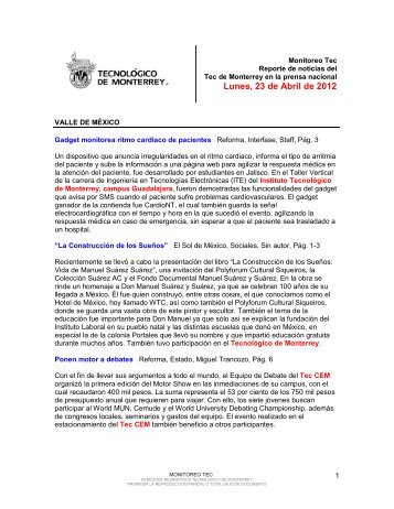 Apr 23, 2012 1:05:55 PM - Tecnológico de Monterrey
