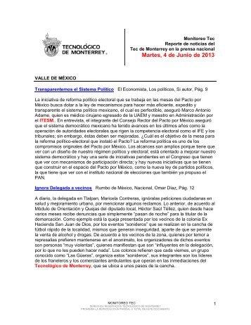 Jun 4, 2013 3:39:12 PM - Tecnológico de Monterrey