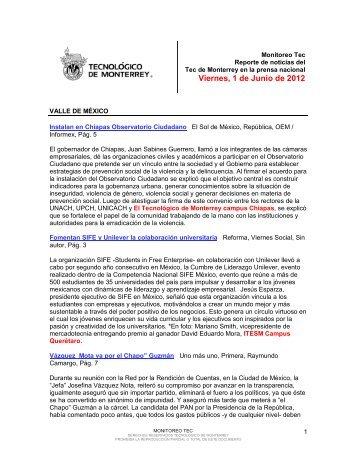 Jun 1, 2012 1:11:29 PM - Tecnológico de Monterrey