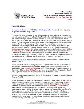 Oct 31, 2012 11:53:37 AM - Tecnológico de Monterrey