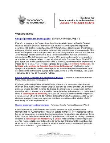 Jun 17, 2010 3:56:35 PM - Tecnológico de Monterrey