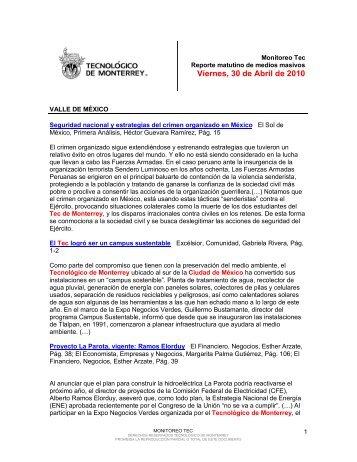 Apr 30, 2010 12:29:19 PM - Tecnológico de Monterrey