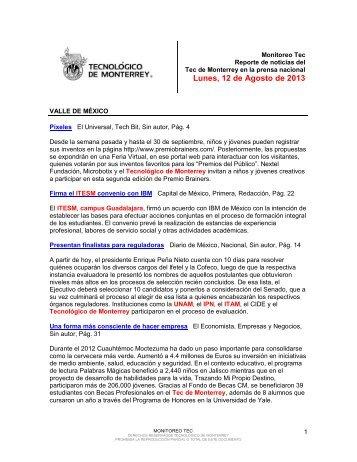 Aug 12, 2013 3:34:39 PM - Tecnológico de Monterrey