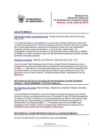 Jul 12, 2013 4:07:29 PM - Tecnológico de Monterrey