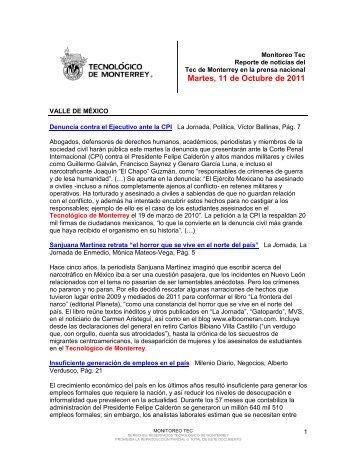 Oct 11, 2011 3:35:05 PM - Tecnológico de Monterrey