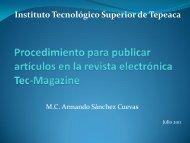 lineamientos - Instituto Tecnológico Superior de Tepeaca