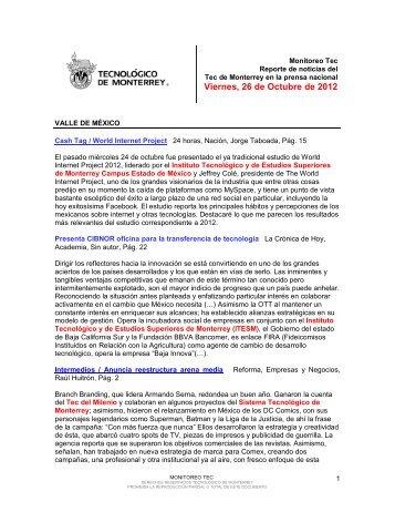 Oct 26, 2012 4:31:11 PM - Tecnológico de Monterrey