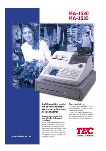 MA-1530 MA-1535 - Toshiba Tec