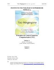 Principios de Control Numérico Computarizado (CNC) - Instituto ...