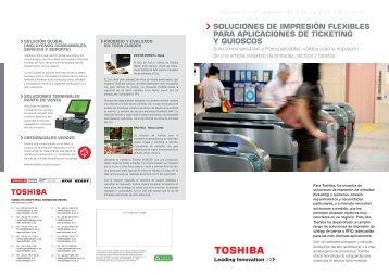 Sequir leyendo… - Toshiba Tec