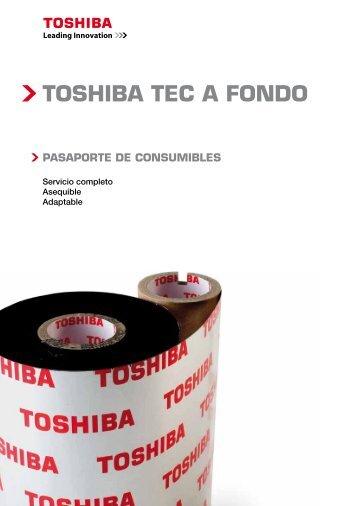 TOSHIBA TEC A FONDO