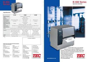 B-X82 Series - Toshiba TEC