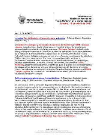 Apr 18, 2013 6:35:02 PM - Tecnológico de Monterrey