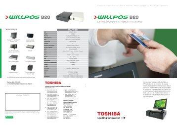 JN779ES WILLPOS B20 bro v3.indd - Toshiba Tec