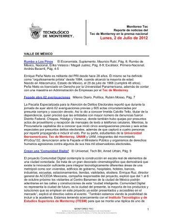 Jul 4, 2012 12:46:29 PM - Tecnológico de Monterrey