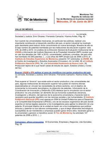 Jun 22, 2011 4:46:42 PM - Tecnológico de Monterrey