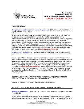 Mar 9, 2012 1:08:19 PM - Tecnológico de Monterrey