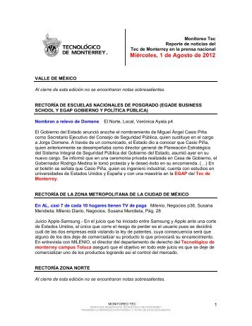 Aug 1, 2012 12:03:51 PM - Tecnológico de Monterrey