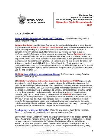 Nov 30, 2011 3:07:18 PM - Tecnológico de Monterrey