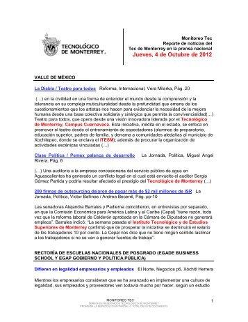 Oct 4, 2012 4:39:57 PM - Tecnológico de Monterrey