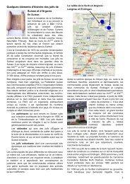 Quelques éléments d'histoire des juifs de Suisse et d'Argovie