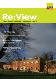 ReView February 2013.pdf - the ABDO email newsletter archive