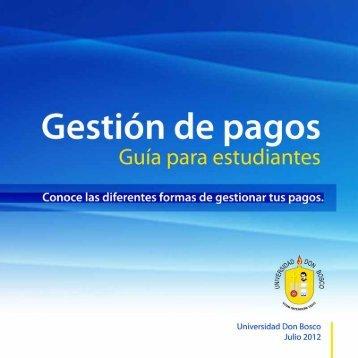 5. Pago Vía Internet mediante el sistema PAGUELO del Banco de ...