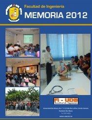MEMORIA 2012 - Universidad Don Bosco