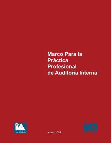 Marco de la Práctica profesional de auditoría interna, IIA